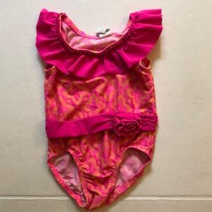 The Children's Place ruffle swimsuit size 18/24m